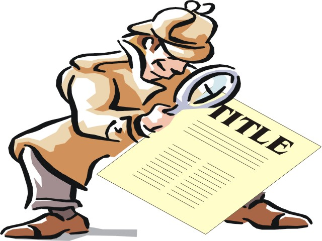 5 Simple steps to write a good research paper title